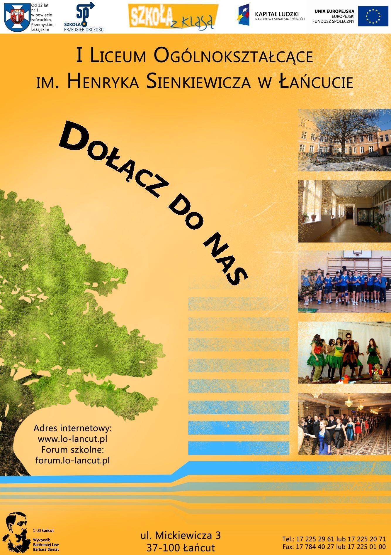 Plakaty I Ulotki Promocyjne 20112012 Oficjalna Strona 1